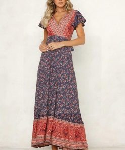 Langes Hippie Kleid