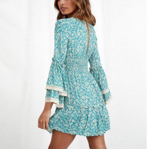 Hippie ethnisches Kleid